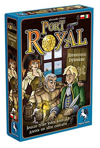 Pegasus Spiele 18141PLIT - Port Royal Ein Auftrag geht noch .. (polnische/italienische Ausgabe)