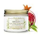 Era Organics Tea Tree Oil Face Cream - For Oily, Acne Prone Skin, Extra Soothing & Nourishing Non-Greasy Botanical Facial Moisturizer with 7X Ingredients For Rosacea, Cystic Acne, Blackheads & Redness