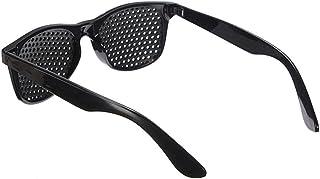 SLAKF - Gafas duraderas Mejorar la Vista Formación Eyewear del Ojo antifatiga Negro aliviar eficazmente la Fatiga de los Ojos Gafas