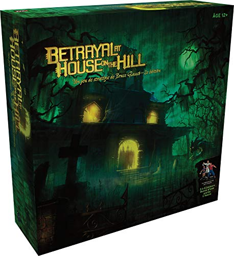 Asmodee- Betrayal at House on The Hill, WIBAHHIFR, Juego de Estrategia