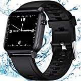 OUTAD Smart Watch,Fitness Tracker with Heart Rate Monitor, Blood Oxygen,1.4 inch Touch Screen, IP68 Waterproof Pedometer, Smartwatch Bracelet with Sleep Monitor, Step Counter for Android iOS