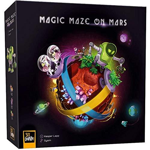 Sit Down Magic Maze on Mars (multilingual)
