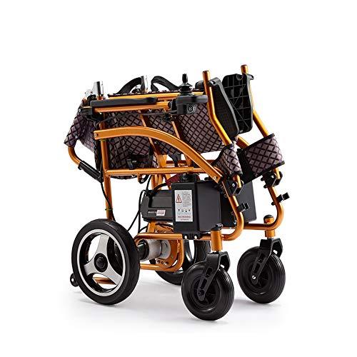 WangXN Elektrische rolstoel, draagbaar, lichtklapbaar, voor op reis