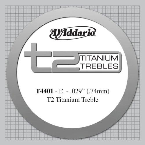 D'Addario T4401 - Cuerda para guitarra clásica de titanio,