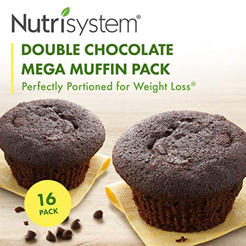 Nutrisystem  Double Chocolate Mega Muffin-16 Pack…