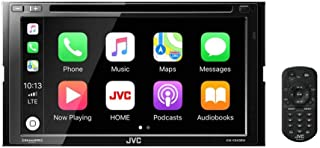 JVC KW-V940BW compatible with Apple CarPlay, Wireless Android Auto 2-DIN CD/DVD AV Receiver