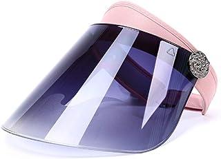 Cappellino protettivo per viso con protezione per occhi e testa Gemini/_mall rimovibile e anti-sputamento con visiera protettiva trasparente