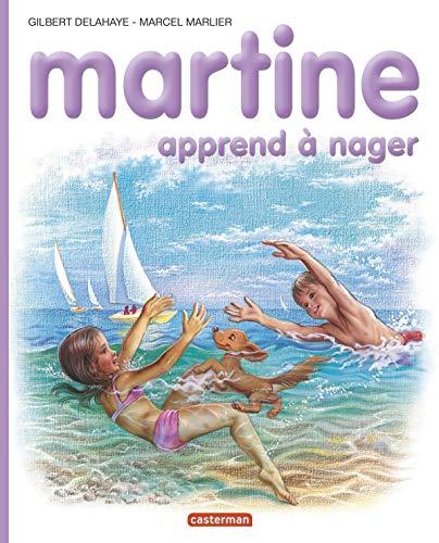 Martine, numéro 25 : Martine apprend à nager