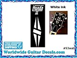 Gibson Hondo Guitar Decal Headstock Waterslide Restoration logo 93wab