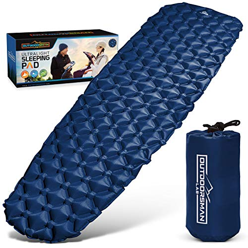 Outdoorsman Lab - Ultralight Sleeping Pad for Camping - Inflatable Sleeping Pads for Backpacking,...