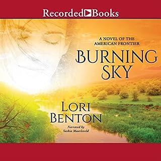Burning Sky audiobook cover art
