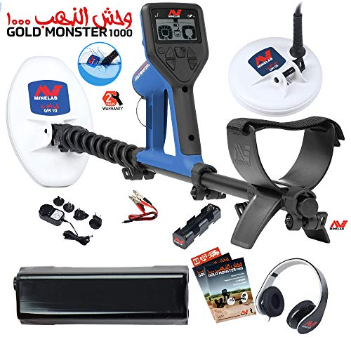 Minelab Gold Monster Metal Detector with Extra Battery Detectors Metal