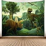 nobranded Jurassic Park série de Dinosaures imprimé Maison Murale Fond Tapisserie Murale Maison Suspendus Tissu Tapis de Plage européen et américain