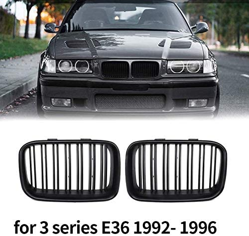 Outlet SALE JINQIU Front Japan's largest assortment Replacement Kidney Grille Fit Compatible Grill for