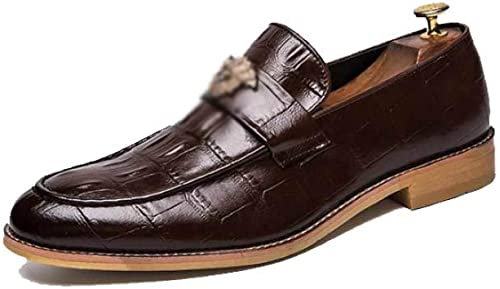 AEYMF Chaussures pour Hommes De Grande Grande Taille, De Style Britannique  haute qualité générale