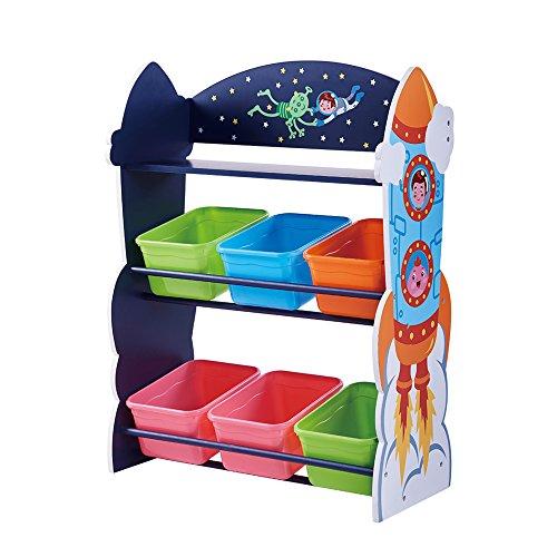 Fantasy Fields Kinder Outer Space Weltraum Holz Fächerschrank RegalTD-12695A