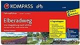 KOMPASS Fahrradführer Elberadweg von Magdeburg nach Schöna: Fahrradführer mit Stadtplänen und GPX-Daten zum Download.