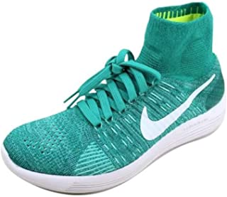 Womens Lunarepic Flyknit Low Top Lace Up Running Sneaker, Clear, Size 7.5