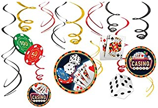 Casino Value Pack Party Swirl Decorating Kit