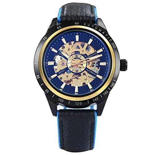 Reloj Hombre Skeleton Reloj mecánico automático Gold Skeleton Reloj Vintage para Hombre Reloj para Hombre Top Brand Luxury