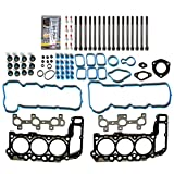 ECCPP Engine Replacement Head Gasket Set with Bolts for 05 06 07 08 09 10 11 12 for Jeep for Dodge Dakota for Mitsubishi 3.7L