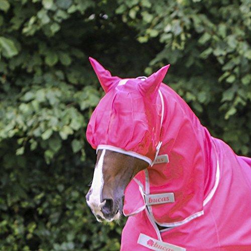 Bucas Freedom Fly Mask - Paradise Pink - Fliegenmaske, Größe:XS