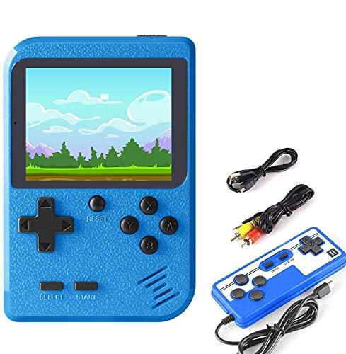 EtparkK Console di Gioco Portatile, Console retrò del Gioco con 400 Giochi Classici, Console di Gioco Retro IPS Classico da 2,8 Pollici con Carica USB per Bambini Adulti