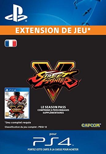 Street Fighter V - Season Pass 2016 [Extension De Jeu] [Code Jeu PSN PS4 - Compte français]