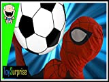Spiderman Playing Soccer