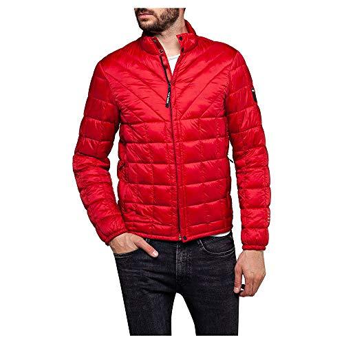 Replay Jacke Größe L red