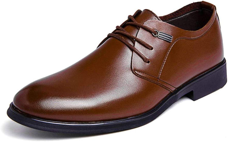 Formelle Schuhe der Männer Art und Weise Oxford beiläufige beiläufige beiläufige einfache Klassische Reine Farbe Spitze-Oben Formale Schuhe,Grille Schuhe  bff65b