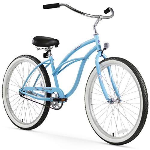Sale!! Firmstrong Urban Lady Single Speed - Women's 26 Beach Cruiser Bike (Baby Blue)