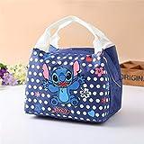 Disney Cartoon InsulatIon Bag Stitch Cute Lunch Box Bag,BarBecue Handbag Outdoor...