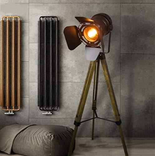 ASDFGH Led woonkamer slaapkamer huis staande lamp Retro vloerlamp vrije tijd bedrijf decoratie vloerlamp