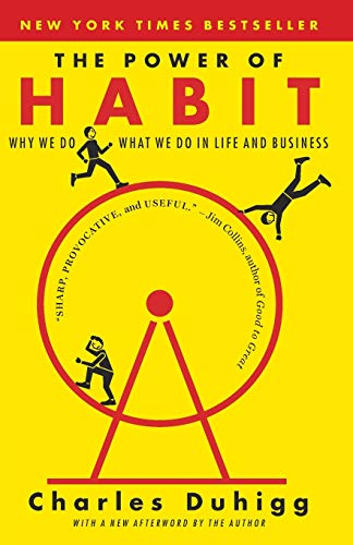 The Power of Habit: Why We Do What We Do in Life and Business (book cover)