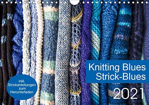 Strick-Blues (Wandkalender 2021 DIN A4 quer)