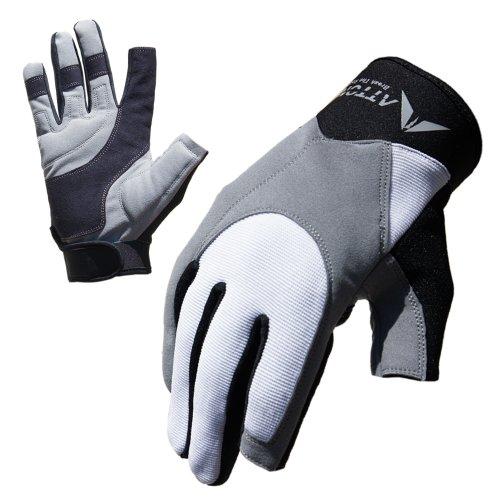 ATTONO Segelhandschuhe Segeln Regatta Wassersport Handschuhe - Größe 9