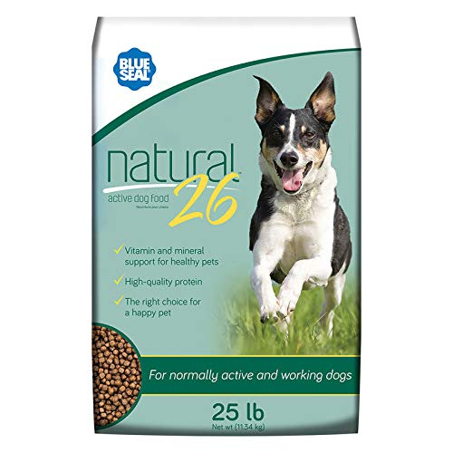 Blue Seal Natural 26 Active Dry Dog Food 50 Pounds