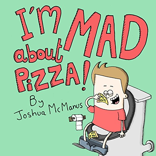 I'm Mad About Pizza! audiobook cover art