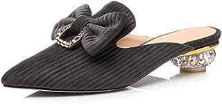 Nine Seven Women's Pleuche Leather Pointtoe
