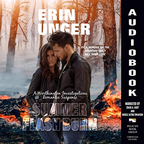 Summer Flash Burn audiobook cover art
