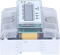 50Hz Small DIN Rail Meter, 3‑Phase 4‑Module Lightweight DTS1891 Rail Energy Meter, Home Electrical Equipment Industrial Eq...