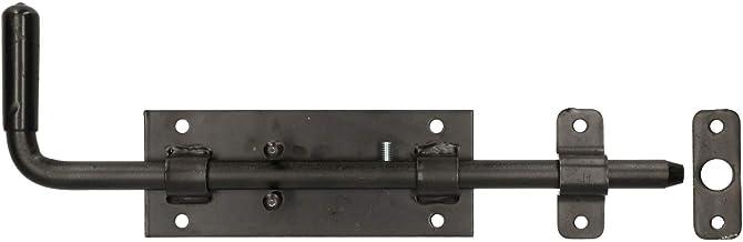 KOTARBAU boutgrendel 300 mm deurgrendel vergrendeling deurgrendel vergrendeling deurschuif deurschuiver poortslock vloersc...