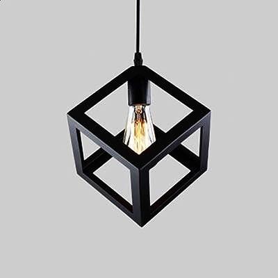 Sencilla Industrial DIY del metal del techo de la lámpara ...