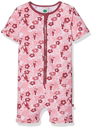 Småfolk Baby-Mädchen Swimsuit. Toucan. Short Legs/SL Handschuhe, Pink (Pale Lilac-500), 9-12 Monate