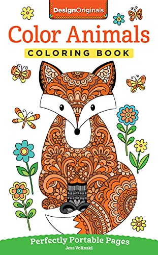 Color Animals Coloring Book: Perfectly Portable Pages (On-the-Go! Coloring Book) (Design Originals)...
