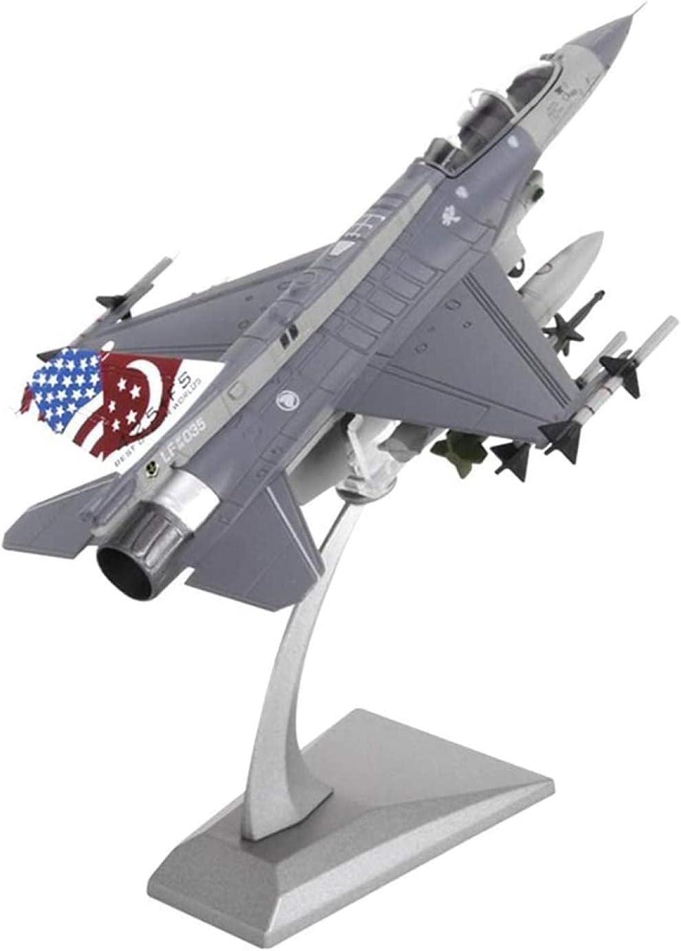 N-Y Airplane Ranking TOP8 Model Diecast 1:72 Metal 8 Luxury goods F-16D American