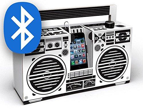 Berlin Boombox - Enceinte Bluetooth, blanche