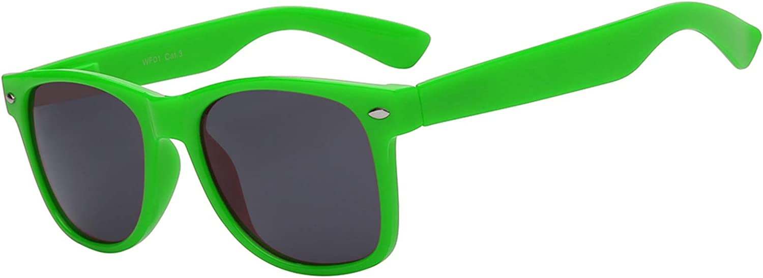 Complete Free Shipping Free shipping on posting reviews Retro 80's Vintage Sunglasses Colorful Colored Frame Matte Lens