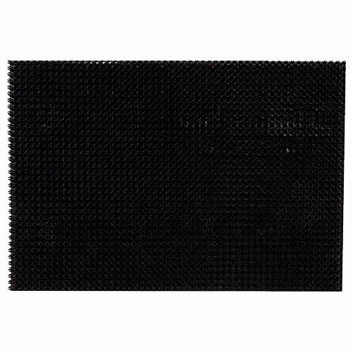 Siena Garden Tropic - Felpudo (40 x 60 cm), Color Negro